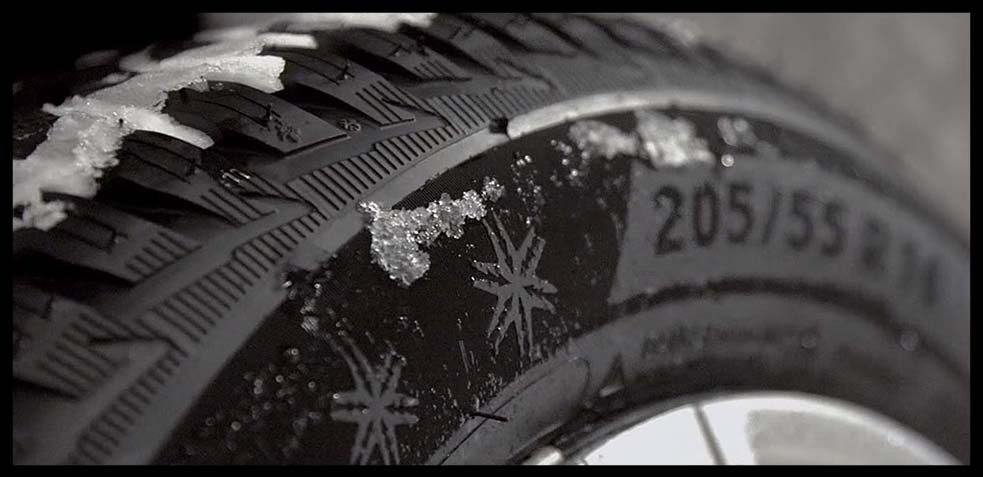 neumáticos de coche para la nieve