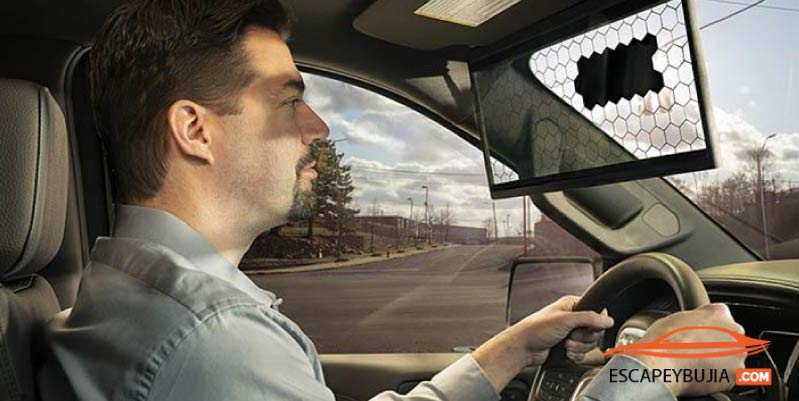 Bosch virtual visor: smart parasol