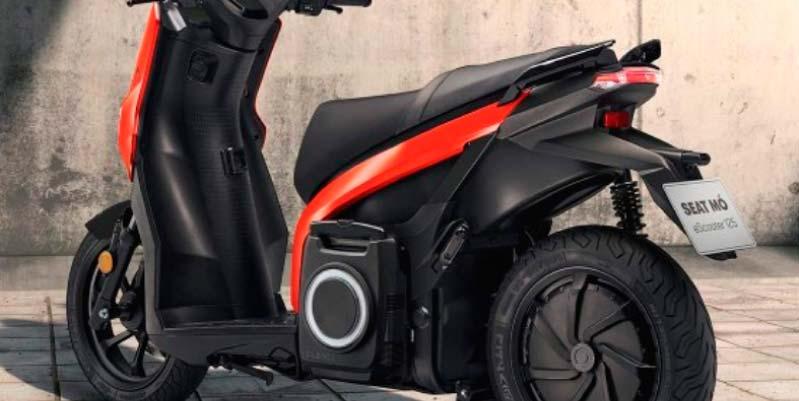 Seat MÓ, la motocicleta 100% eléctrica