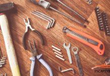 kit de herramientas para llevar en el auto