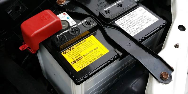 Consumo de batería coche